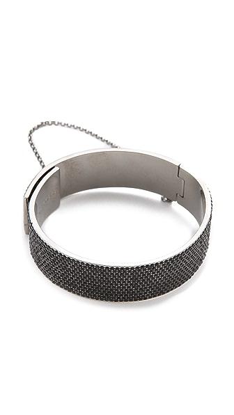 Eddie Borgo Pave Safety Chain Cuff