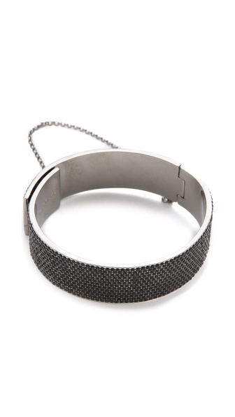 Eddie Borgo Pave Safety Chain Cuff