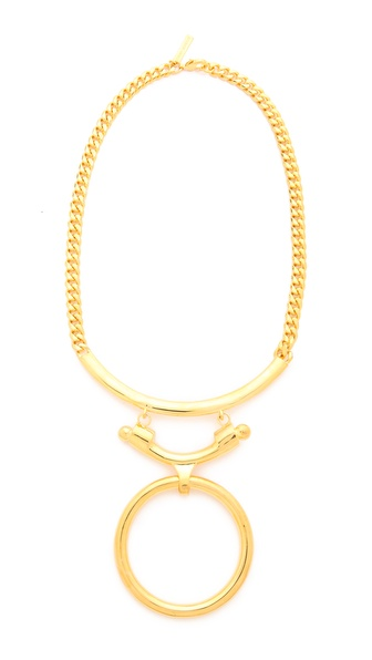 Eddie Borgo O Ring Necklace