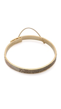 Eddie Borgo Small Pave Safety Chain Choker