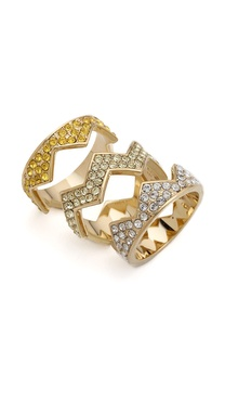 Eddie Borgo Pave Bear Trap Ring
