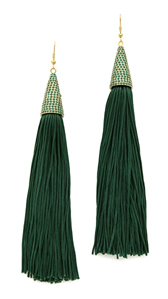 Eddie Borgo Pave Earrings