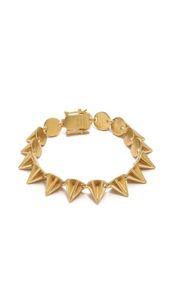 Eddie Borgo Lotus Cone Bracelet