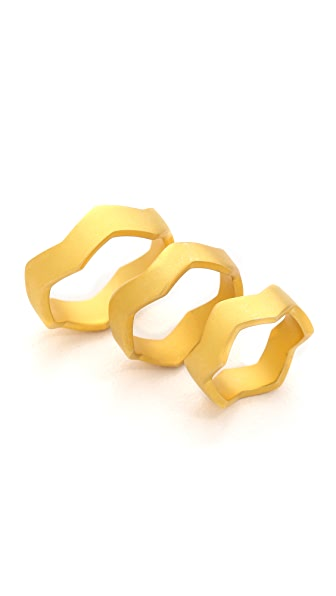 Eddie Borgo Zigzag Ring