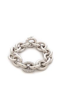 Eddie Borgo Pave Link Chain Bracelet