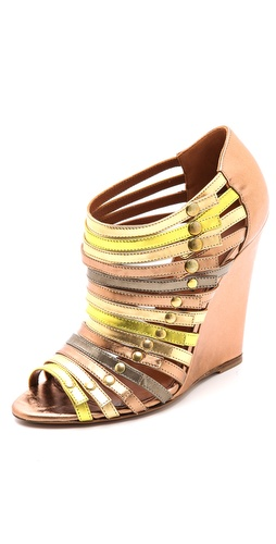 Edmundo Castillo Uma Strappy Wedge Sandals at Shopbop / East Dane