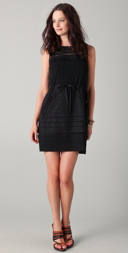 EDUN Lace Shift Dress