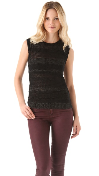 EDUN Mixed Yarn Sweater Tank