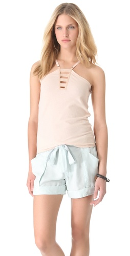 EDUN Military Strap Tank at Shopbop.com
