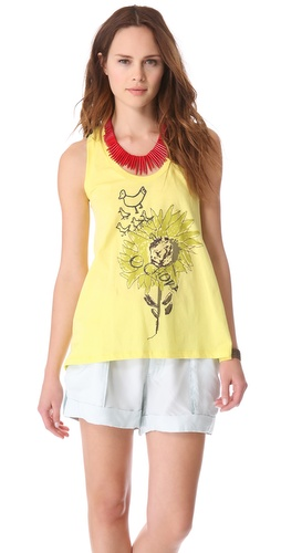 EDUN Sunflower Tank at Shopbop.com