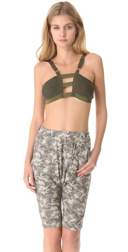 EDUN Zimbabwe Burnout Jersey Bralette at Shopbop.com