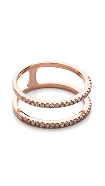 EF Collection Double Spiral Ring