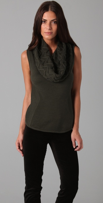 Elie Tahari Roni Sleeveless Sweater
