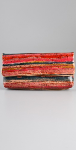 Elie Tahari Colleen Oversized Clutch