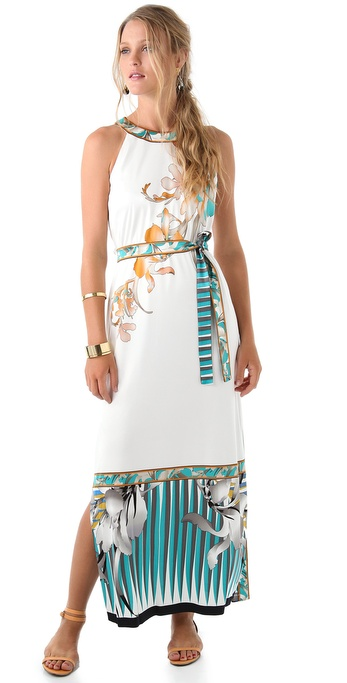 Elie Tahari Beatrice Maxi Dress