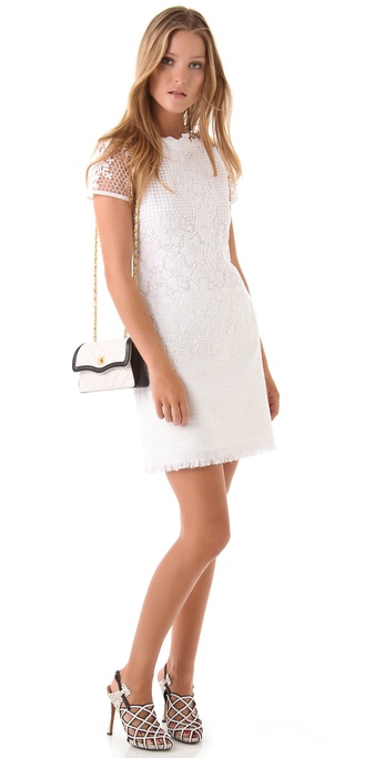 Elie Tahari Anita Lace Dress