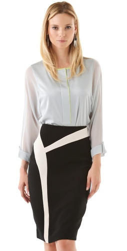 Elie Tahari Mallory Blouse