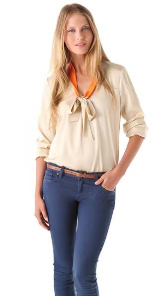 Elie Tahari Rubin Blouse