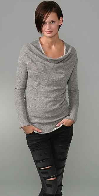 Elizabeth and James Funnel Neck Sweatshirt