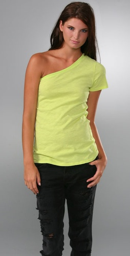 Elizabeth and James One Shoulder Tee