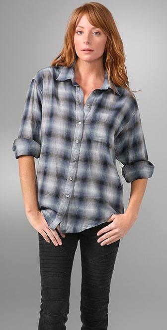 Elizabeth and James Laurent Plaid Shirt