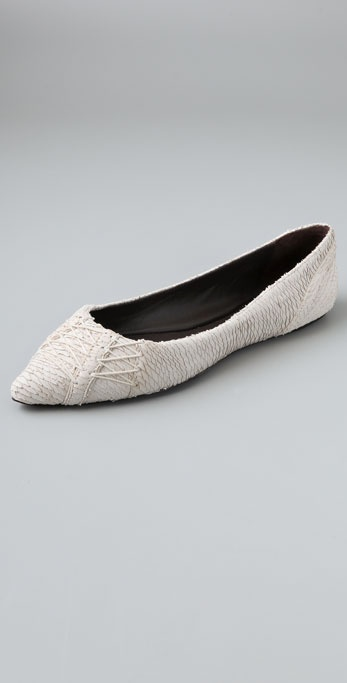 Elizabeth and James Jane Pointy Toe Flats