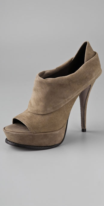 Elizabeth and James E-More Suede Platform Booties