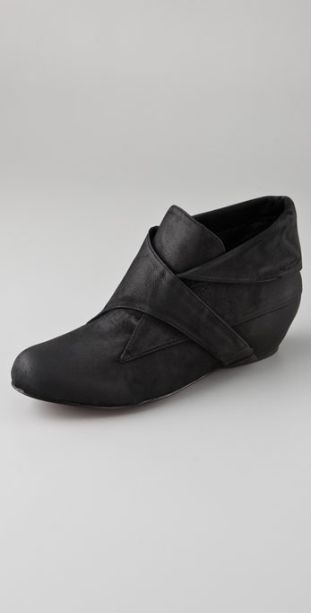 Elizabeth and James Swing Cuff Booties on Hidden Wedge