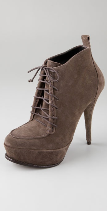 Elizabeth and James Moxy Suede Hiking Booties