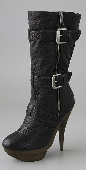 Elizabeth and James E-Gasp Double Platform Boots