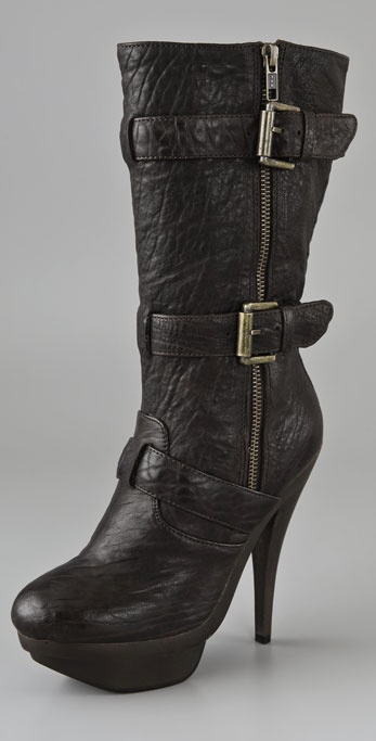 Elizabeth and James E-Gasp Double Platform Boots