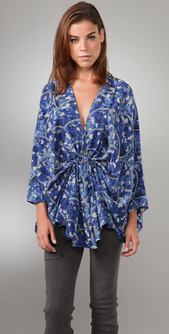 Elizabeth and James Greta Kimono Blouse