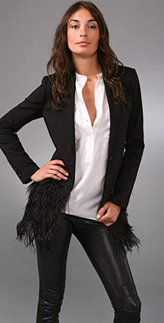 Elizabeth and James Feather James Blazer