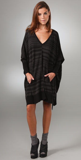 Elizabeth and James Zoe Square V Neck Poncho