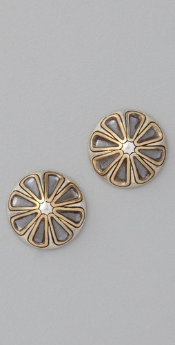 Elizabeth and James Two Tone Studs