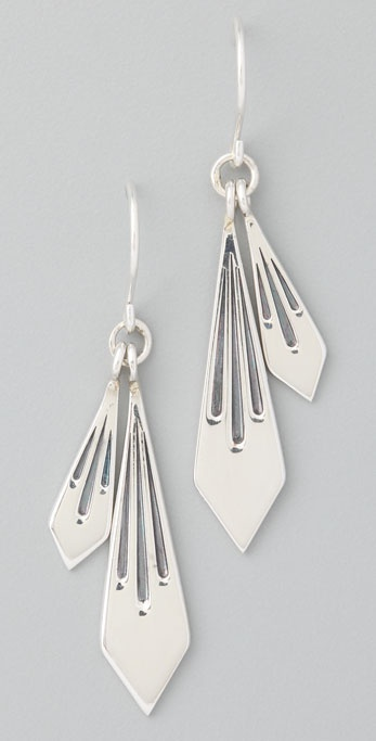 Elizabeth and James Double Fringe Earrings