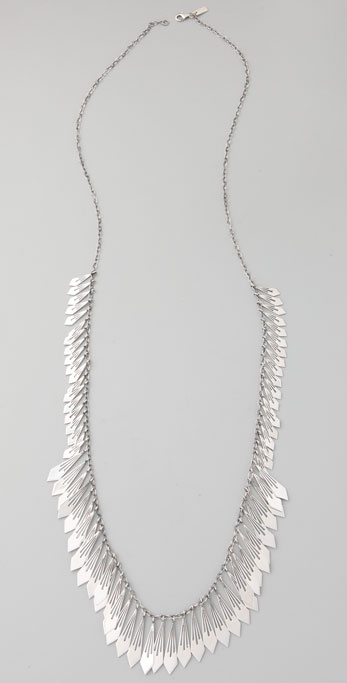 Elizabeth and James Long Fringe Necklace
