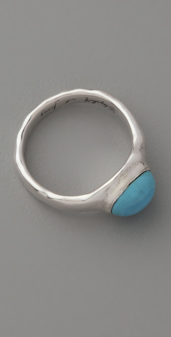 Elizabeth and James Turquoise Howlite Ring