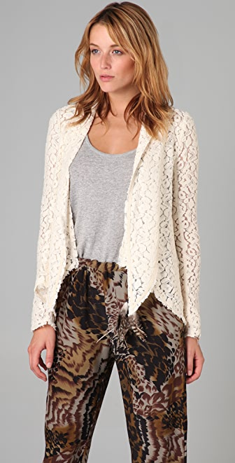 Elizabeth and James Lace Jacket