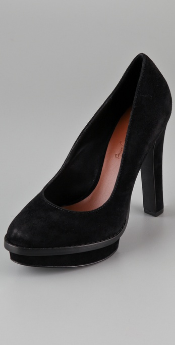 Elizabeth and James Magic Platform Pumps