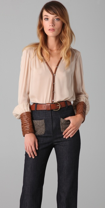 Elizabeth and James Chantal Blouse
