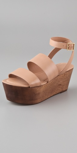 Elizabeth and James Bax Flatform Sandals