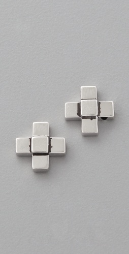 Elizabeth and James Nile Cross Stud Post Earrings