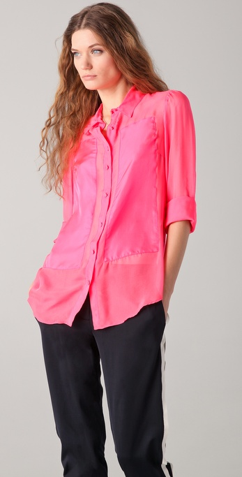 Elizabeth and James Emile Blouse