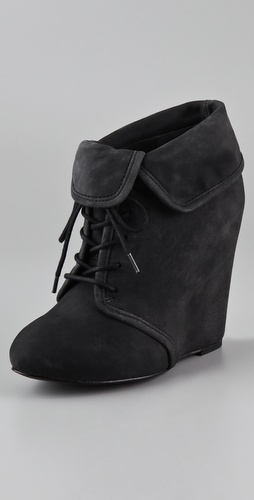Elizabeth and James Manor Wedge Booties