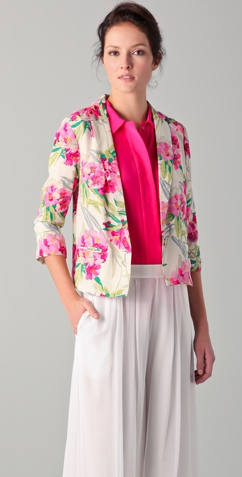 Elizabeth and James Floral Bruce Jacket