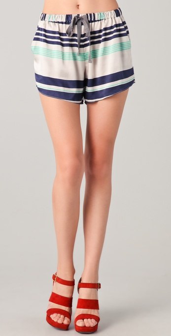 Elizabeth and James Striped Ozzy Shorts
