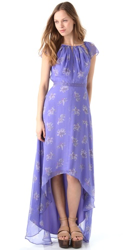 Elizabeth and James Floral Sandy Dress