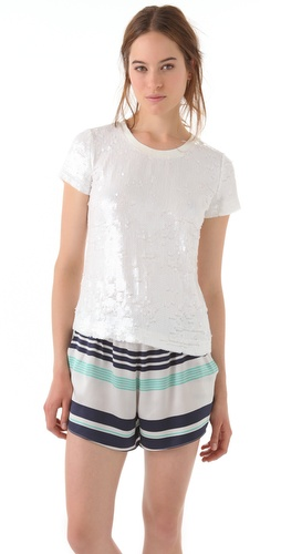 Elizabeth and James Sequin Tomboy Tee