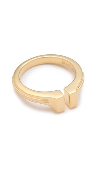 Elizabeth and James Horseshoe Ring